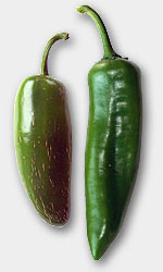 Jalapeno (links) und New Mexican