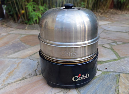 Gourmet fisch Griller im Cobb Grill