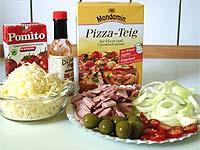 Pizza-Zutaten