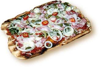 Pizza grillen ist leicht und lecker!