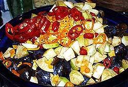 Obst & Chilis - eine aromatische Kombination