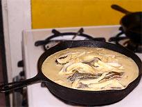 Chili-Souflee fertig zum Überbacken