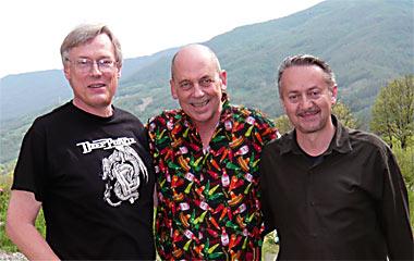 Harald Zoschke, Dave DeWitt, Mario DaDomo