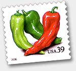 Chili Briefmarke, USA 2006