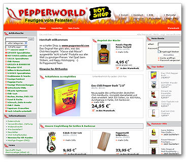 "Pepperworld Hot Shop ""2.0"""