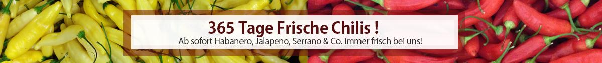 Frische Chili online kaufen
