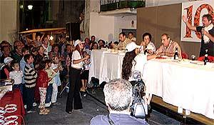Vorstellen der Finale-Teilnehmer