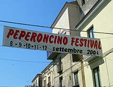 Peperoncino Festival 2004 Banner