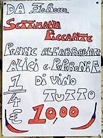 Zio Rocco's scharfes Menü
