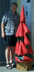 Capsicum-Weihnachtsbaum