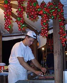 Salsiccia Piccante vom Grill
