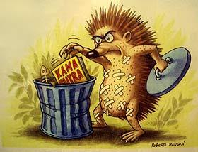 Pikanter Cartoon von Roberto Mangosi