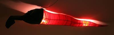 Verschärfte Deckenlampe