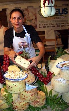 Pecorino mit Peperoncini