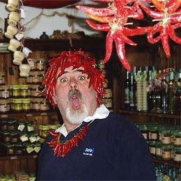 """Domenico vom Chili-Shop """"Greenhouse"""""""