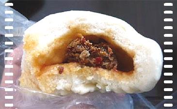 Fast Food auf chinesisch: Pikant gefülltes Dampfbrötchen