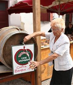 Cidre-Ausschank