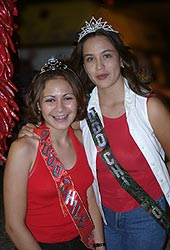 Chile Queen (R) und Red Chile Princess (L)