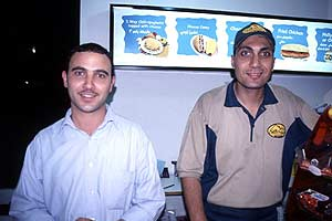 The friendly guys at The Chili House, Amman