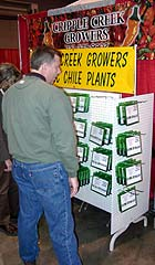 Cripple Creek Growers' display