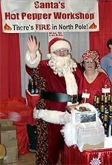 Santa's Hot Pepper Workshop
