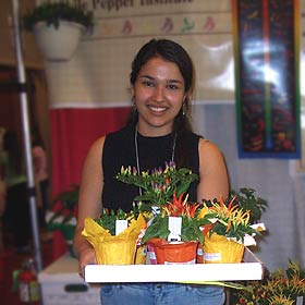 Monica, Chile Pepper Institute Student