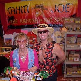 Mr. & Mrs. Tahiti Joe