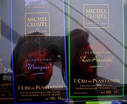Schoko-Tafeln mit Plantagen-Angabe