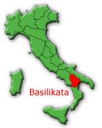 Italien-Region Basilikata
