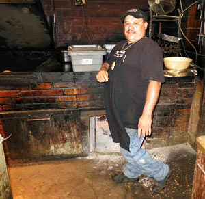 Pitmaster Manuel Garcia jr.