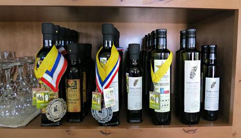 Preisgekrönte Olivenöle