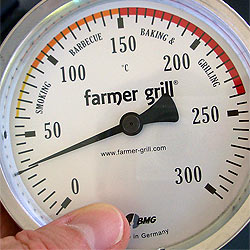 Barbecue-Thermometer