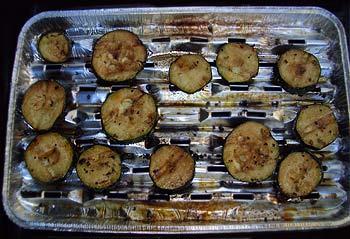 Zucchini-Antipasti vom Grill