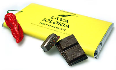 Lava Jolokia Fiery Chocolate